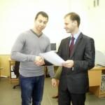 Награждение Шаповалова Николая